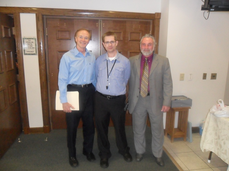 With Dr. Jack Stepp and Rick Kardell